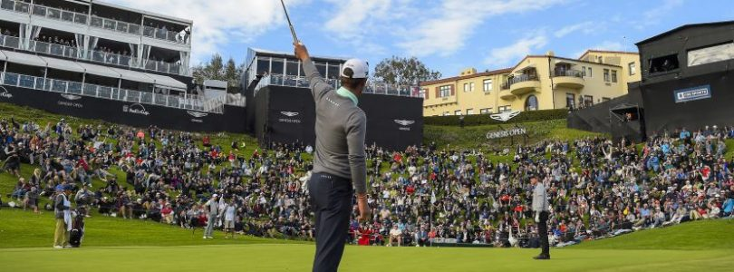 Ставки на гольф-турнир Genesis Open, Tiger Woods, Dustin Johnson, Justin Thomas, Тайгер Вудс, Дастин Джонсон, Джастин Томас